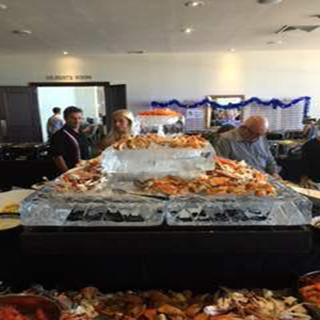 3 tier seafood station 1m x 1m